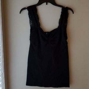 With USA Black Camisole